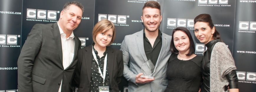 Romanian Contact Center Awards: Best Telesales Manager je z CCC Bukurešť