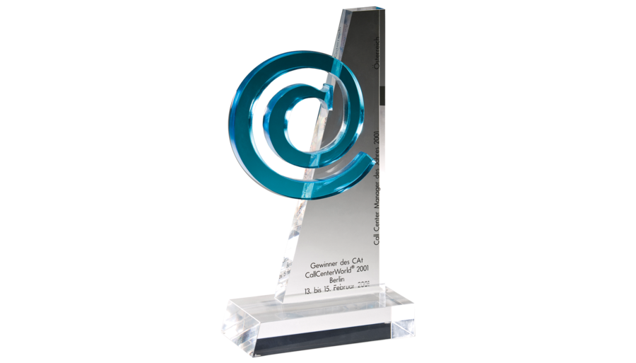 CAT Award 2001 - Best Call Center Management