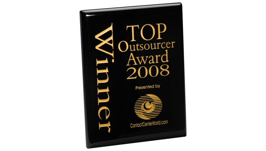 CCW 2008 - Top Outsourcer Award