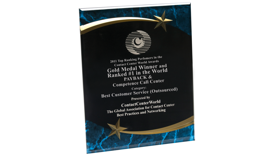 WCCA 2011 - Best Customer Service Worldwide