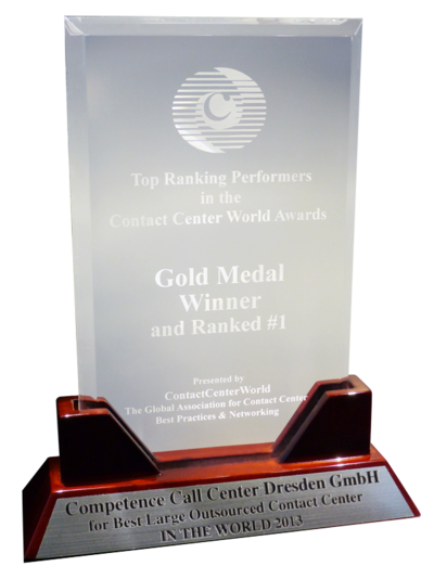 WCCA 2013 - World / Best Contact Center in the World