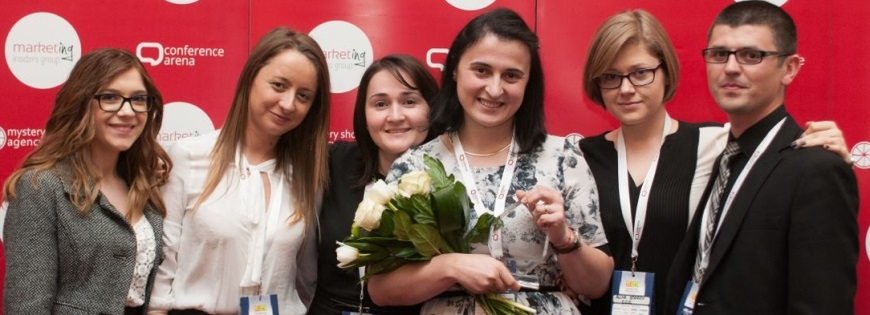 Nagroda dla CCC Brașov podczas Contact Center Awards 2016 w Rumunii
