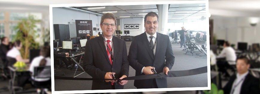 Operational start and official opening at the CCC location in Biel