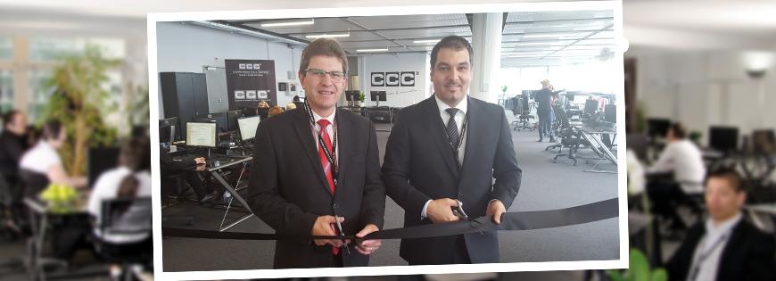 Ouverture officielle et début de l'exploitation du site CCC de Bienne