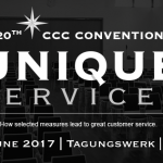 """Unique Services"" – jubilejný ročník CCC Convention v Berlíne"
