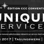 « Unique Services » – l'édition anniversaire de la Convention CCC à Berlin