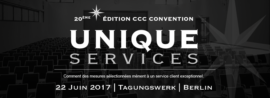 « Unique Services » – l'édition anniversaire de la Convention CCC à Berlin